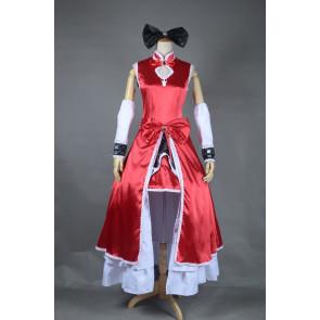 Puella Magi Madoka Magica Sakura Kyoko Cosplay Costume - Full Set