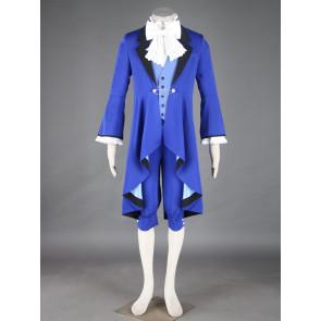 Kuroshitsuji Black Butler Ciel Phantomhive Blue Cosplay Costume