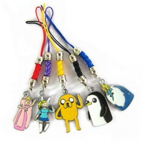 Adventure Time Cosplay Phone Strap B