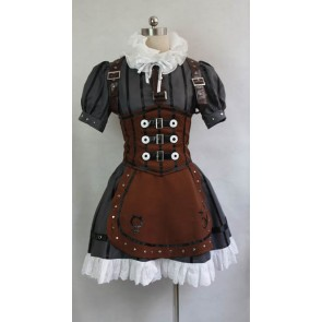 Alice: Madness Returns Alice Steamdress Cosplay Costume