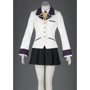 Angel Beats! Tachibana Kanade Cosplay Costume
