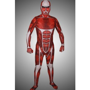 Attack on Titan 50M Colossus Titan Cosplay Costume