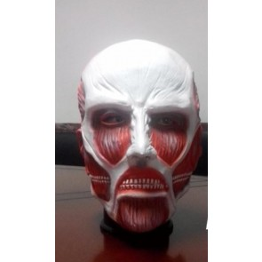 Attack On Titan Colossus Titan Latex Cosplay Mask