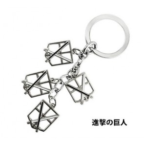 Attack On Titan Training Corps Cosplay Keychain