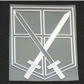 Attack On Titan Training Corps Cosplay Sticker