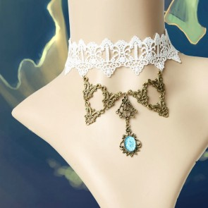 Attractive Handmade Lace Girls Lolita Choker