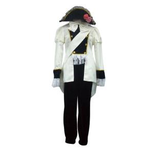 Axis Powers Hetalia Austria White Cosplay Uniform