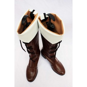 Axis Powers Hetalia Finland Faux Leather Cosplay Boots
