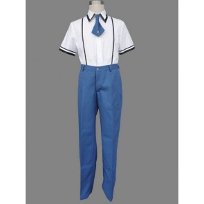 Baka to Test to Shoukanjuu Boy Summer School Uniform Cosplay Costume