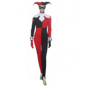 Batman Harley Quinn Dr. Harleen Quinzel Cosplay Costume