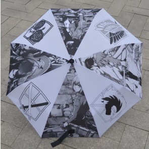 Beautiful Attack On Titan Cosplay Folding Umbrella