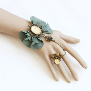 Beautiful Handmade Lolita Bracelet And Ring Set