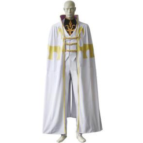 Code Geass Bismarck Waldstein Cosplay Costume