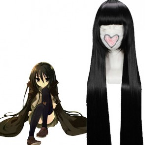 Black 110cm Shakugan no Shana Shana Cosplay Wig
