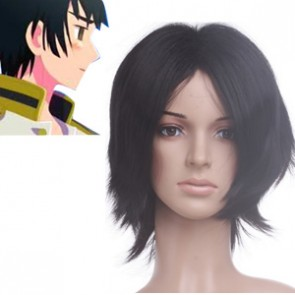 Black 32cm Axis Powers Hetalia Japan Cosplay Wig