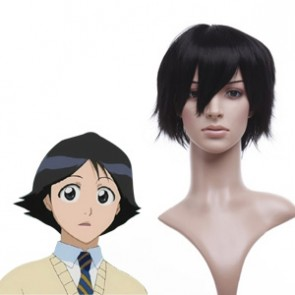 Black 32cm Bleach Kojima Mizuiro Cosplay Wig