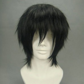 Black 32cm Death Note Lawliet Ryuzaki Cosplay Wig