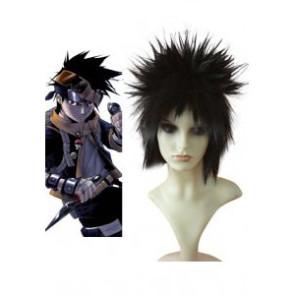 Black 35cm Naruto Obito Uchiha Cosplay Wig