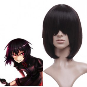 Black 40cm Tonhou Project Houjuu Nue Cosplay Wig