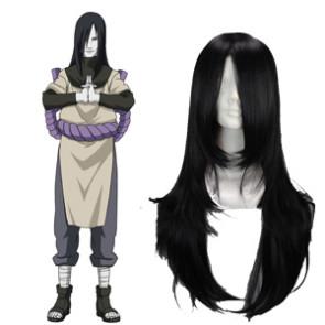 Black 65cm Naruto Orochimaru Cosplay Wig