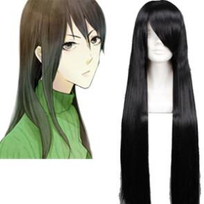 Black 80cm DuRaRaRa Yagiri Namie Cosplay Wig