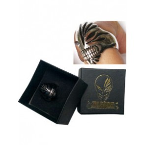 Black Bleach Urosaki Ichigo Hollows Alloy Cosplay Ring With Box