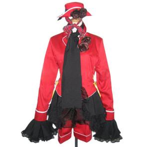 Kuroshitsuji Black Butler Ciel Red Cosplay Costume