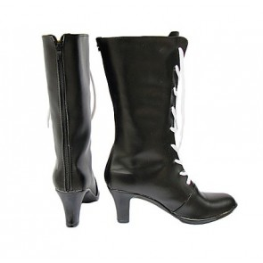 Black Butler Kuroshitsuji Ciel Faux Leather Cosplay Boots