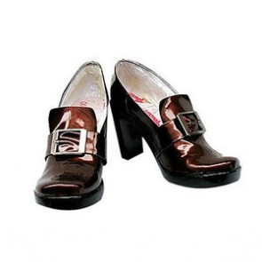 Black Butler Kuroshitsuji Ciel Smooth Surface High Heel Cosplay Shoes