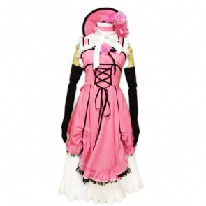 Kuroshitsuji Black Butler Pink Cosplay Costume Dress