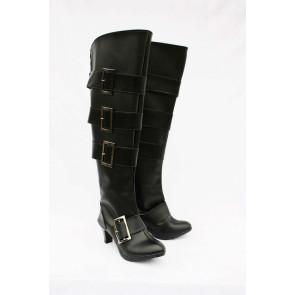 Black Butler Kuroshitsuji UnderTaker Imitation Leather Cosplay Boots