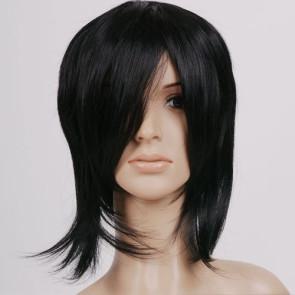 Black Kuroshitsuji Sebastian Michaelis Cosplay Wig