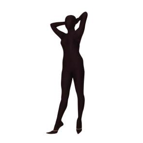 Black Lycra Spandex Unisex Zentai Suit