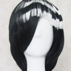 Black Soul Eater Death the Kid Cosplay Wig