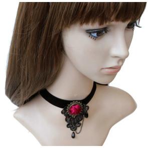 Black Special Girl Lolita Neckband
