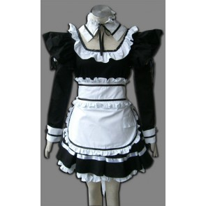 Black Spirit Cosplay Maid Costume
