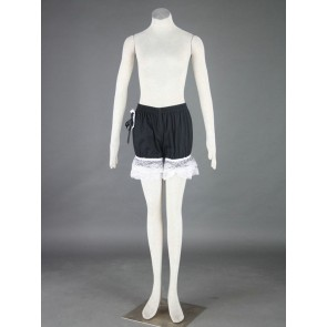Black Sweet Cotton Lace Lolita Bloomers