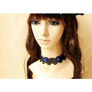 Black Victorian Romantic Lady Lolita Necklace