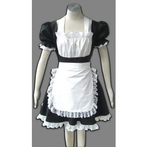 Black Winged Angle Cosplay Maid Costume