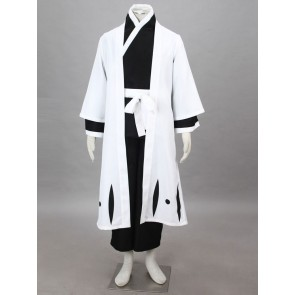 Bleach Captain Sosuke Aizen Cosplay Costume - 5th Division