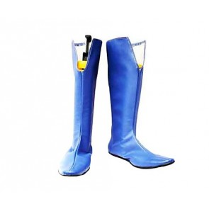 Bleach Noba Blue Cosplay Boots