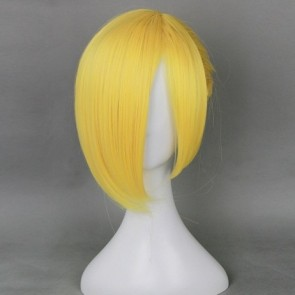 Blonde 35cm Attack On Titan Annie Leonhardt Cosplay Wig