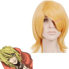 Blonde 40cm Togainu no Chi Gunji cosplay Wig