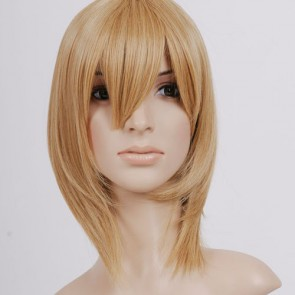 Blonde Liechtenstein Cosplay Wig