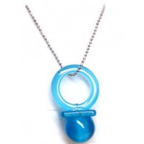 Blue Hitman Reborn Nipple Synthetic Opal Cosplay Necklace
