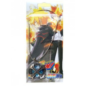 Blue Katekyo Hitman Reborn Alloy Anime Necklace