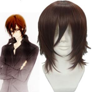 Brown 32cm Vampire Knight Kuran Kaname Cosplay Wig