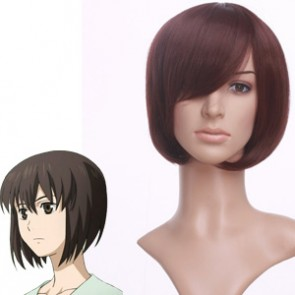 Brown 35cm Future City No.6 Safu Cosplay Wig