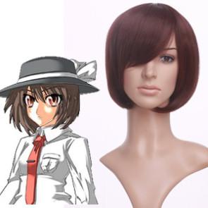 Brown 35cm Tonhou Project Usami Renko Cosplay Wig