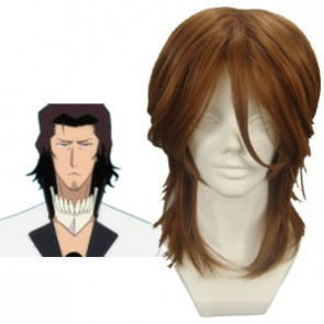 Brown 40cm Bleach Coyote Starrk Cosplay Wig